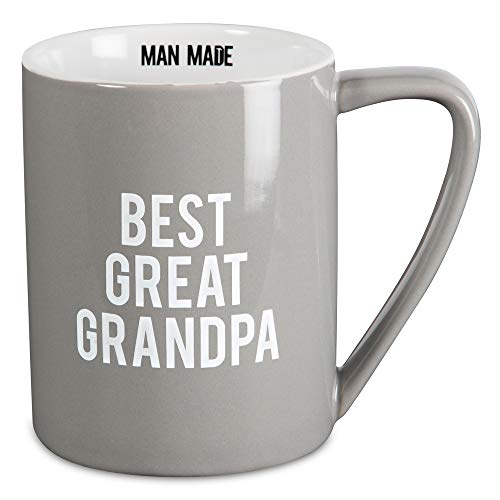 Pavilion Gift Company 14205 Best Great Grandpa Ceramic Mug, 18 oz, Multicolor