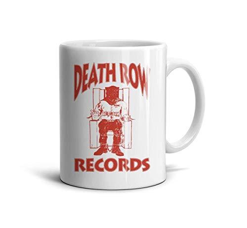 Kosjfss White Ceramic Coffee Mug 11 oz Music Fan Funny Design Daily Use Gift Souvenir Tea Mugs Cup