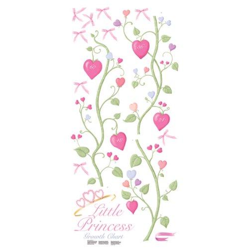 RoomMates RMK1084GC Fairy Princess Peel & Stick Growth (Princess Child Growth Chart)