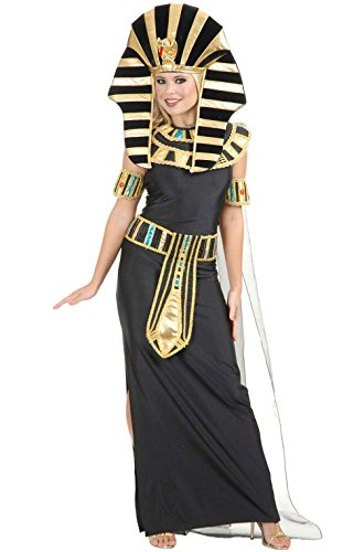 [Mememall Fashion Ancient Egyptian Beauty Nefertiti Adult Costume] (Nefertiti Halloween Costumes)