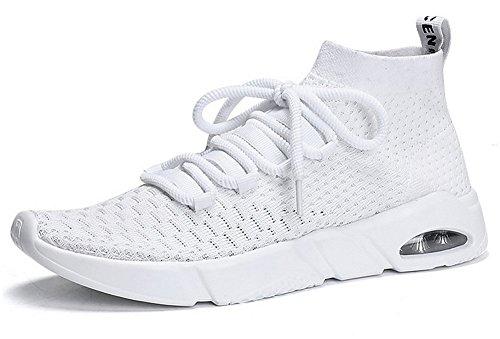 JIYE Men's Running Shoes Free Transform Flyknit Soft Fashion