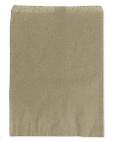 Gift Bags Kraft 11''x 8-1/2'' (Package of 100)