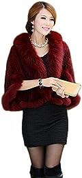 Amazon.com: Red - Fur &amp Faux Fur / Coats Jackets &amp Vests