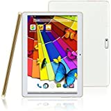 """10.1"""" Inch Tablets & Computers 3G / 4G Network Retina Screen Phone Tablet PC -- Android 5.1 Lollipop -- Eight Core CPU -- 1gb Ram -- 16gb Internal Storage ( 11gb avaliable Space )-- In Built 2X Normal Sim Card Slot -- White Colour Housing."""