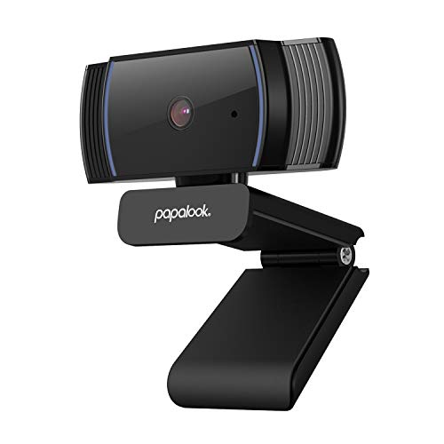 papalook Webcam 1080P, AF925 con Enfoque Automático y Micrófono de Reducción de Ruido,Diseño Plegable, Giratorio de 360…