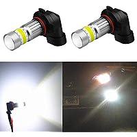 Alla Lighting 2800lm Xtreme Super Bright 9006 LED Bulbs...