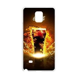 Coca Cola Samsung Galaxy Note 4 Cell Phone Case White PhoneAccessory LSX_914581