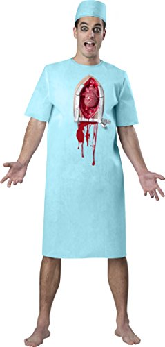 Fun World Men's Open Heart Horror Kit, Multi, one Size]()