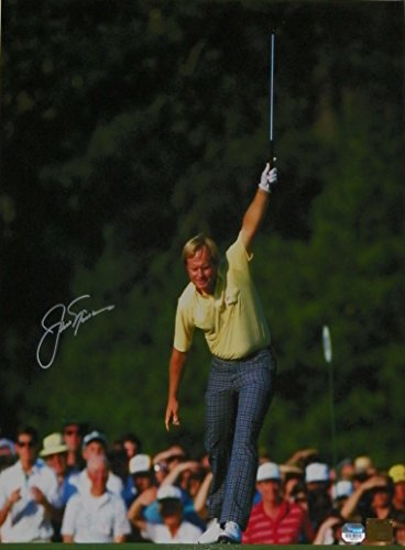 Jack Nicklaus Signed Autographed Auto 16x20 1986 Master's Photo - Fanatics & Golden Bear Hologram