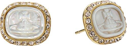 Vivienne Westwood Women's Edith Earrings White ()