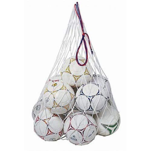Fitness Health Mesh Ball Nylon Bag Football Sack/Carrier/Bag Soccer Training Net 8-10