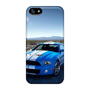 Protective Tpu Case With Fashion Design For Iphone 5/5s (ford Shelby)