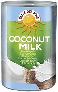 Valle Del Sole Leche de Coco 6% 400 ml (1 caja de 6 ...