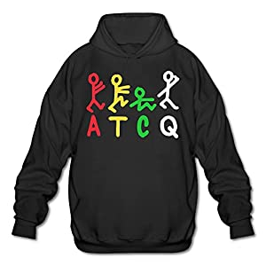SAMMOI ATCQ Tribe Logo Men's Cool Hoodies M Black