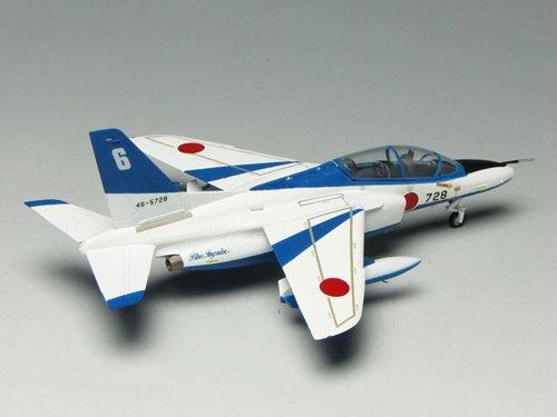 プラッツ 1/100 FF-2 航空自衛隊 T-4 ブルーインパルス FF-2 プラモデル