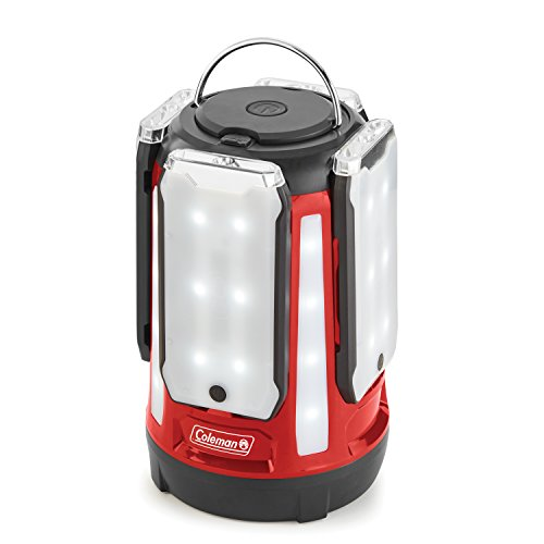 Coleman LED Lantern | 800 Lumens 4-Panel Lantern with Water-Resistant Design