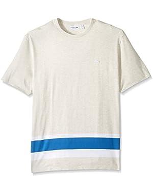 Men's Engineered Stripe Jersey T-Shirt