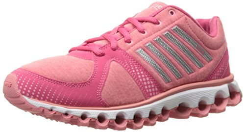 K-Swiss Women's X-160 Heather CMF Cross-Trainer Shoe, Honeysuckle/Geranium Pink, 6 M US