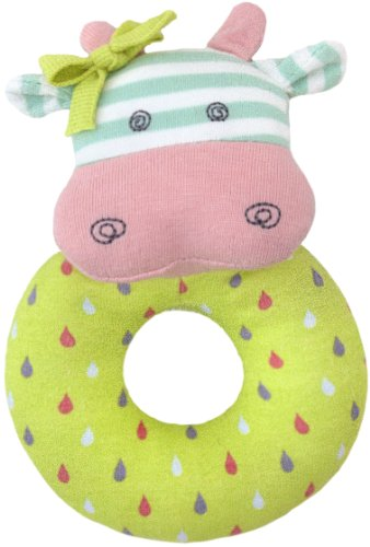 Organic Farm Buddies Rattle, Belle the Cow