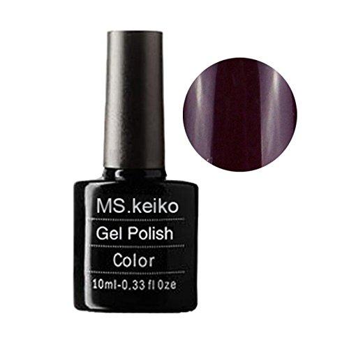 G-Beauty : Ms.Keiko GelPolish SHELLAC NEW colors Soak-off UV Led Gel Polish Long-lasting Nail Art 10ml 057