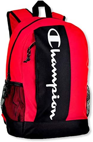 Champion unisex adult Franchise Backpack, Red, One Size US