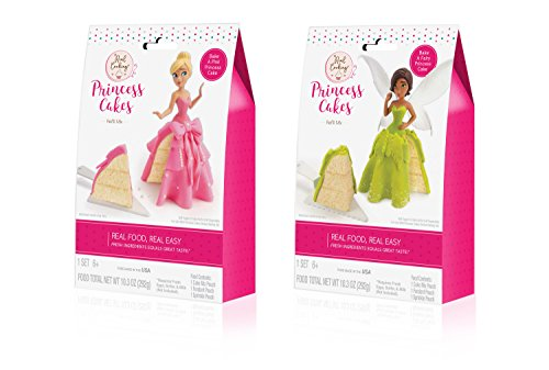 - Real Cooking Princess Cakes Refill 2-Pack (Amazon Exclusive)
