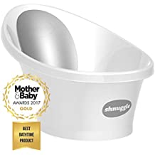 Shnuggle Baby Bath Tub - Compact Support Seat, Makes Bath Time Easy, 0-12m,...