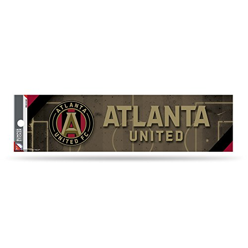 fan products of MLS Atlanta United FC Bumper Sticker, Gray, 11-inch by 3-inch