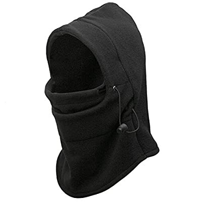 Balaclava Windproof Polar Fleece Ski Mask Cold Weather Face Mask Motorcycle Neck Warmer or Tactical Hood Ultimate Thermal retention In Outdoors Super Comfortable Moisture Wicking