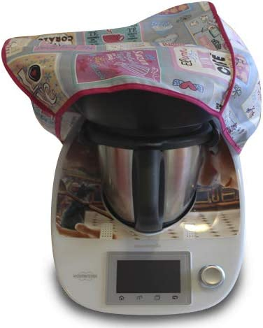 Funda antimanchas para Thermomix TM31 & TM5 CON VAROMA Love cooking: Amazon.es: Hogar