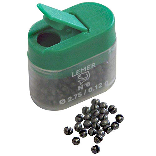 Anglers Accessories Lead Refill Size BB. One Size of Lead per Container.