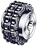 Dodge (Baldor) 099103 - Chain Coupling Hub - 40 Chain, 16 Teeth, 3/4 in Finshed Bore, 1.97 in Hub OD, Steel