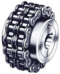 Dodge (Baldor) 099105 - Chain Coupling Hub - 40 Chain, 16 Teeth, 1 in Finshed Bore, 1.97 in Hub OD, Steel by Dodge (Baldor)