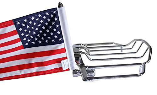Pro Pad RFM-RDVM15 Fixed Motorcycle Flag Mount Kit and 10