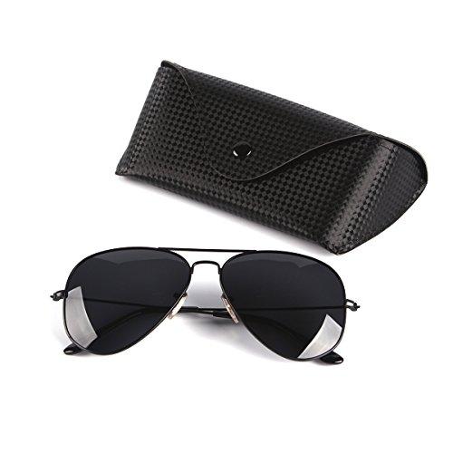 Mirrored Polarized Aviator Sunglasses Protection