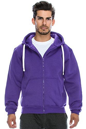 Hipster Basic Heavyweight Hoodie Jacket