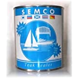 Semco Teak Sealer- Waterproofing Wood Sealant Protector (Quart, Natural) by Semco
