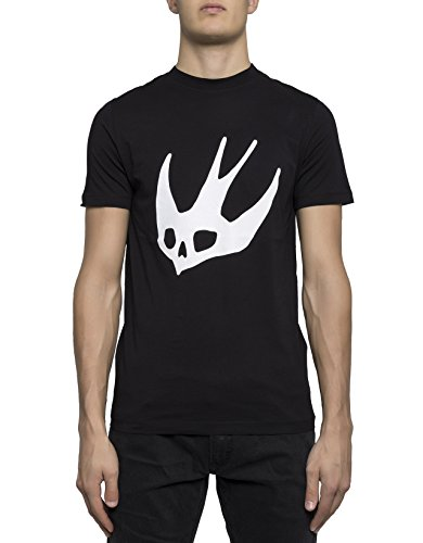 mcq-alexander-mcqueen-mens-277605rhr881000-white-black-cotton-t-shirt