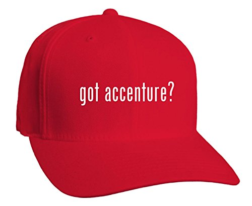 got-accenture-adult-baseball-hat-red-large-x-large