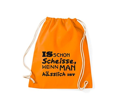 Shirtstown Scheisse Déjà Kultiger Anglais'is Vous Plusieurs Si Avez Orange Gymsac Laides En Couleurs wqASxrCw
