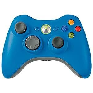 Amazon.com: Xbox 360 Wireless Controller Blue: Artist Not ...