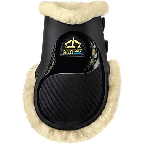 Veredus KV Gel Vento STS Rear Fetlock Boots Small Black
