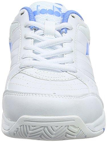 Blu Smash Bianco Tennis Scarpe Bianco Diadora da Iris W Donna zw60Cxdq