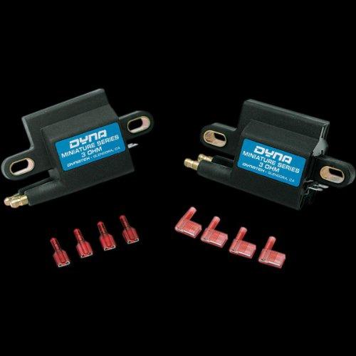 - Dynatek Miniature Series Coil - 3.0 ohm - Dual-Tower - Single Fire - Dual Plug DC1-2