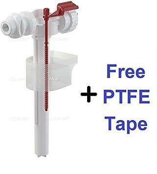 Baño Válvula de flotador - Insertar página - 1.27 cm Rosca de la tubería - Válvula de cisterna: Amazon.es: Bricolaje y herramientas