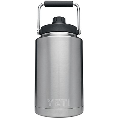 YETI Rambler Vacuum Insulated Stainless Steel One Gallon Jug with MagCap by YETI