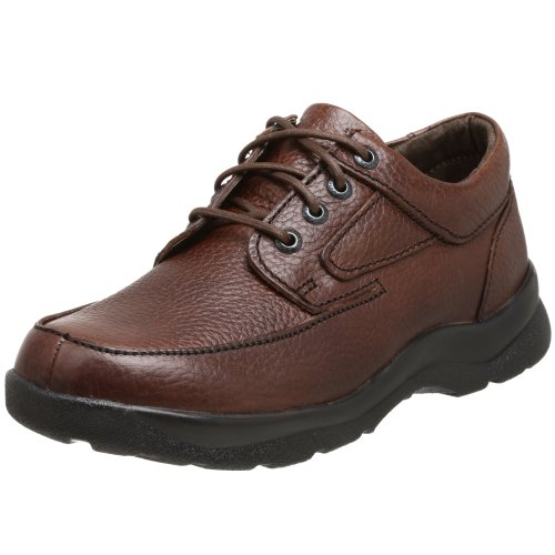 (Apex Men's Ariya Moc Toe Sneaker, Brown, 13 W)