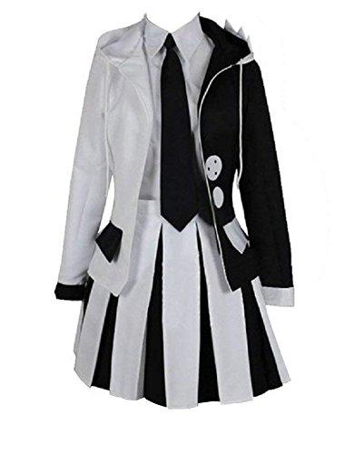 ZYHCOS Cosplay Costume Anime Cute Black White Bear