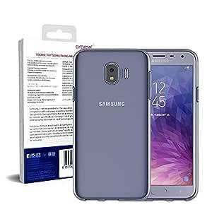 Samsung Galaxy Grand Prime Pro Araree J Cover Series Transparent Back Case Cover - Clear Blue