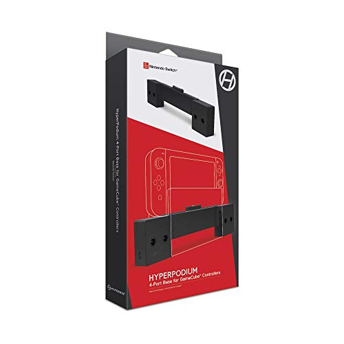 Hyperkin Hyperpodium 4-Port Controller Base for GameCube Compatible with Nintendo Switch - Nintendo Switch